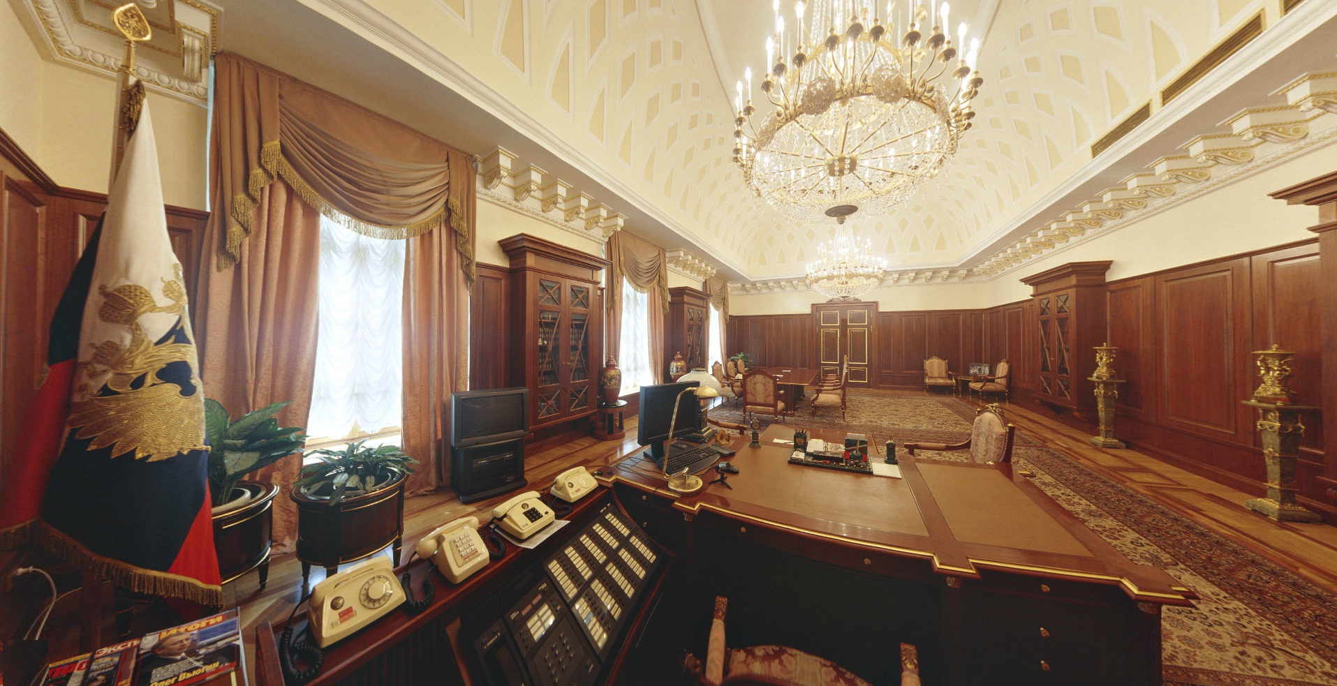 Senate Palace - President work area
